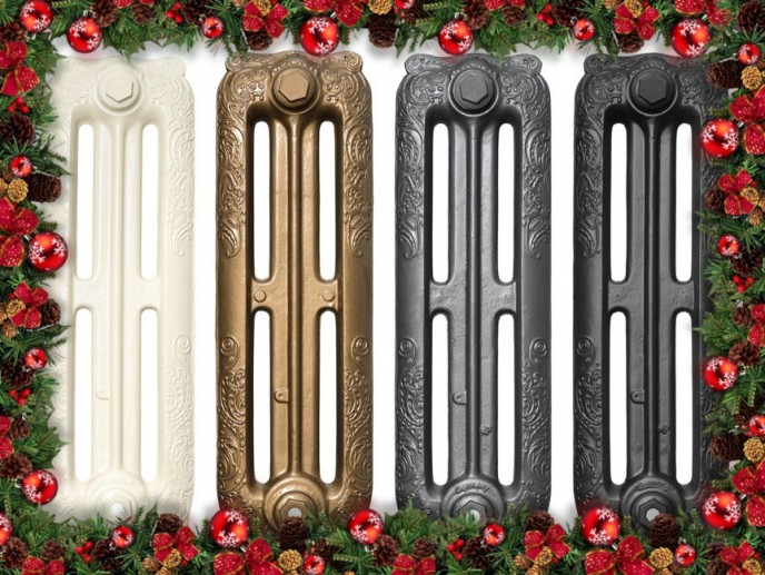 cast iron radiators for Christmas