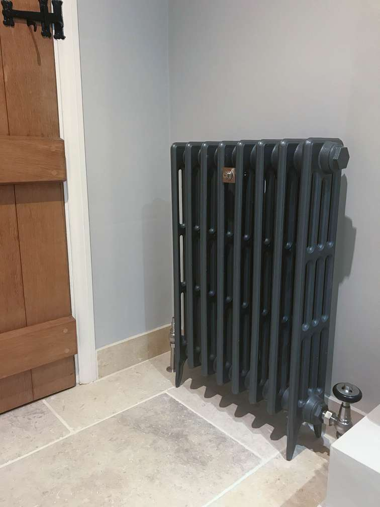 Traditional Radiator in Shower Room 2