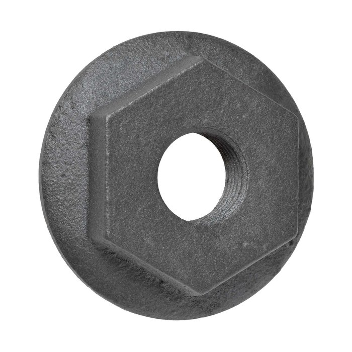 "Cast Iron Radiator Bush End - 1.5"" to 0.5"" BSP L/H Reducing Bush (CDC-LHOPENBUSH)"