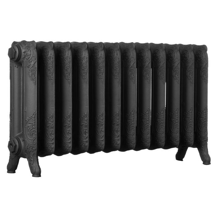 Short Ascot 2 Column 510mm Cast Iron Radiator (CDC-SHT-ASCOT)